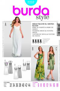 Burda 7257 Pattern