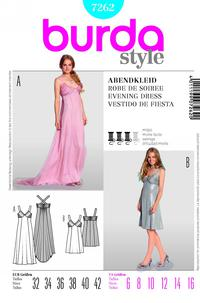 Burda 7262 Pattern