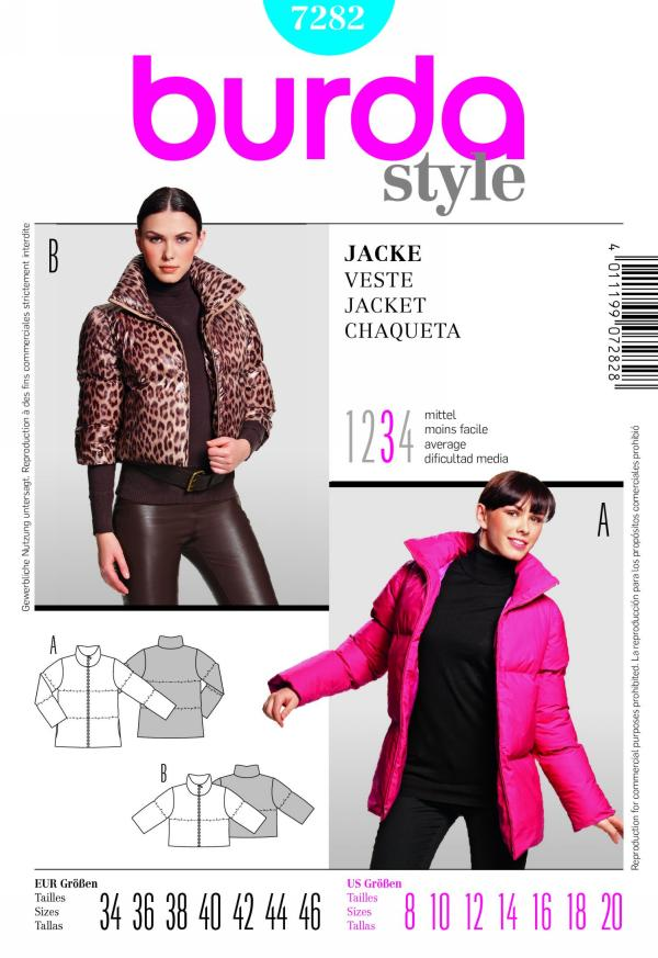 Burda misses jacket 7282