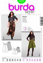 Burda 7293 Pattern