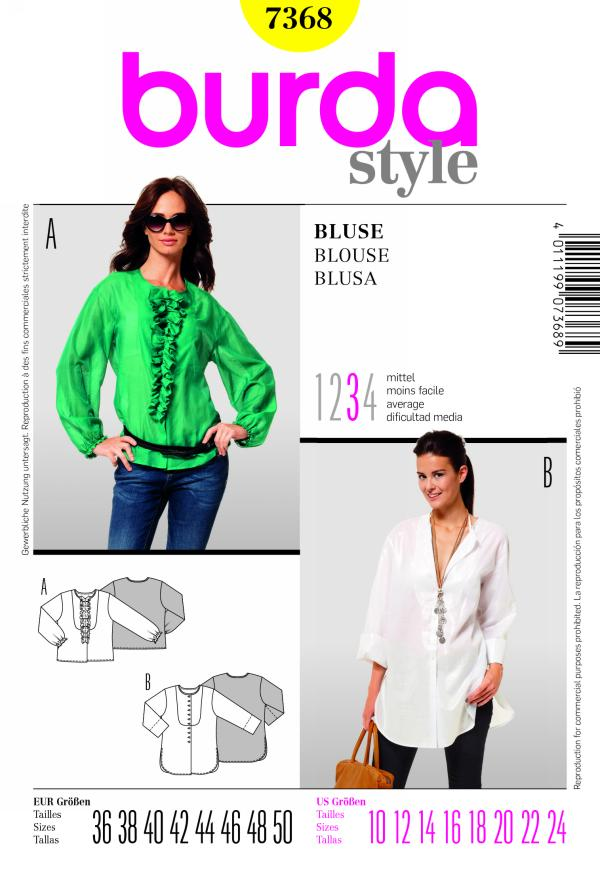 Burda BLOUSE 7368