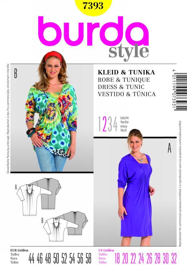 Burda DRESS & TUNIC 7393