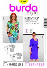 Burda 7393 Pattern