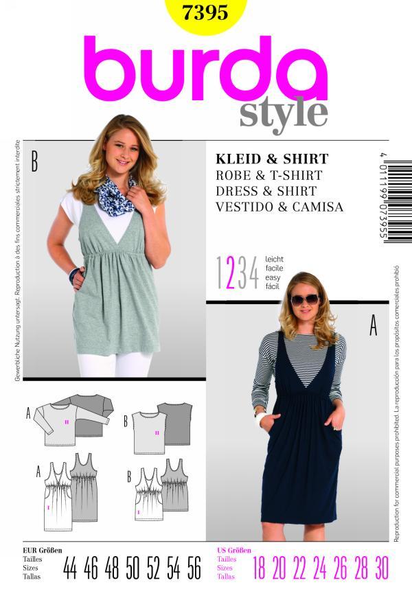 Burda DRESS & SHIRT 7395