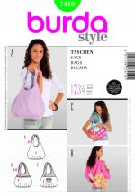 Burda 7410 Pattern