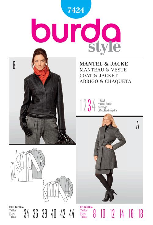 Burda Coat & Jacket 7424
