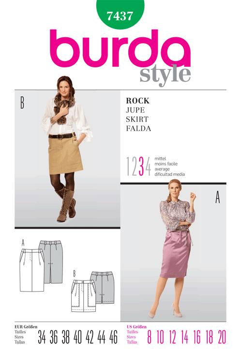 Burda Skirt 7437
