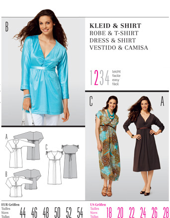 Burda DRESS & SHIRT 7501
