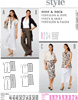 Burda 7505 Pattern