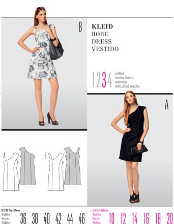 Burda Misses DRESS 7514