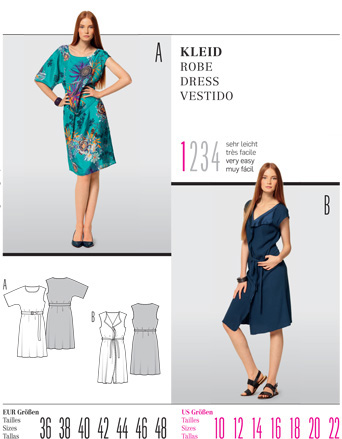 Burda DRESS 7515