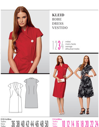 Burda DRESS 7516