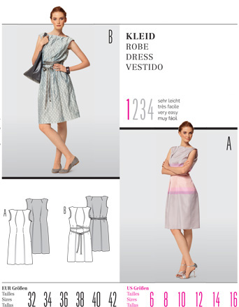 Burda Misses DRESS 7517