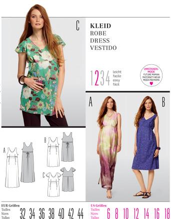 Burda DRESS 7527