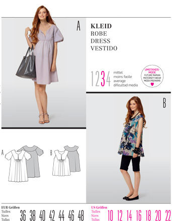 Burda DRESS 7528