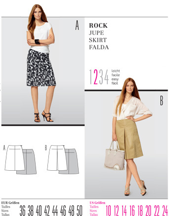 Burda Misses SKIRT 7531