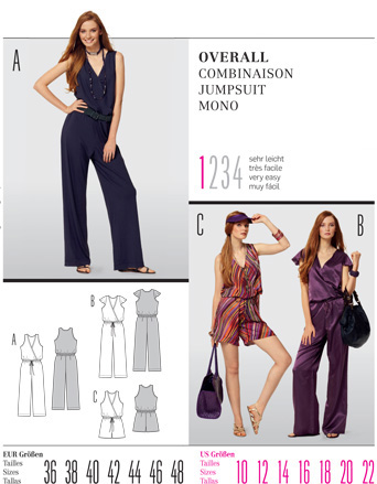 Burda Misses JUMPSUIT 7536