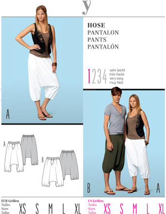 Burda Misses PANTS 7546