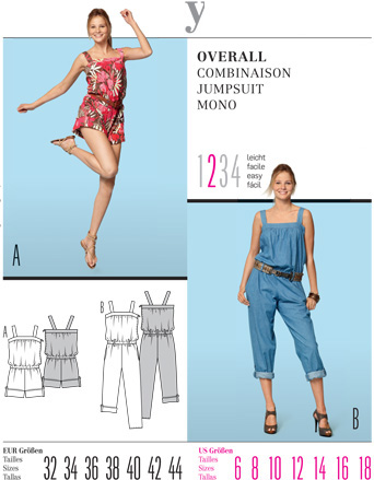 Burda Misses JUMPSUIT 7552