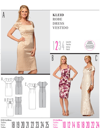 Burda Misses DRESS 7557