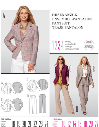 Burda Misses PANTSUIT 7559