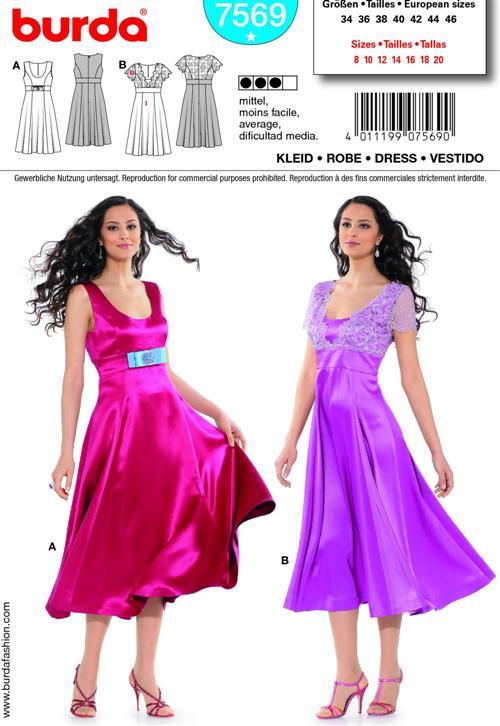 Burda DRESS 7569
