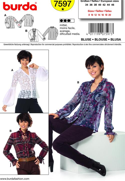 Burda BLOUSE 7597