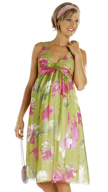 Burda Misses Maternity Dress 7630