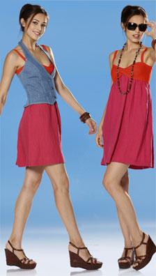 Burda Misses DRESS AND VEST 7681