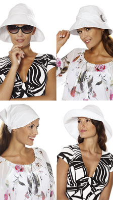 Burda Misses Hats 7685