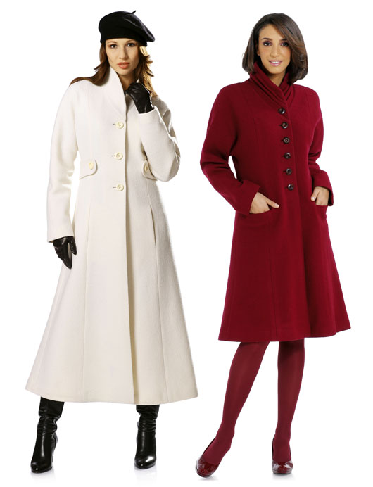 palto (4). Серое приталенное пальто выкройка.