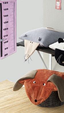 Burda Stuffed animals, cushion, measuring chart 7754