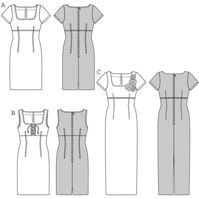 Burda Dress 7774