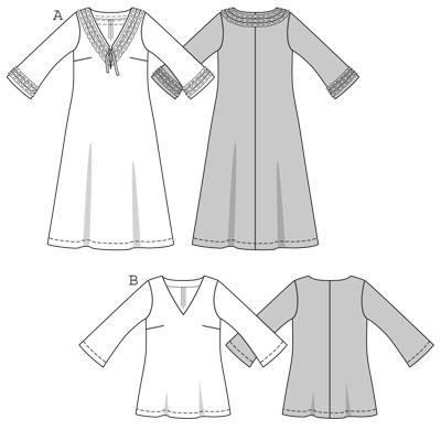 Burda Dress tunic 7797