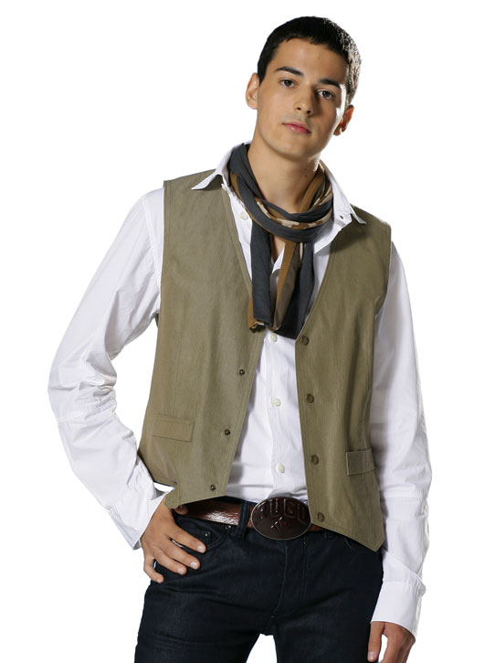 Burda Misses and Men's Waistcoat/vest 7810
