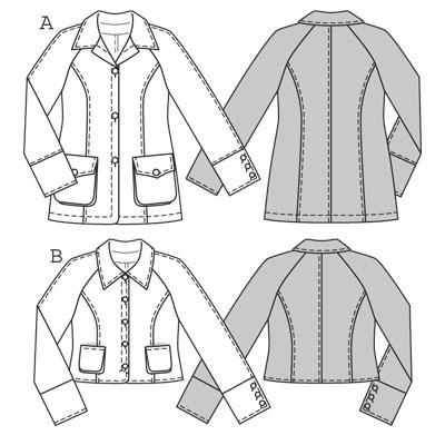 Burda Jacket 7812