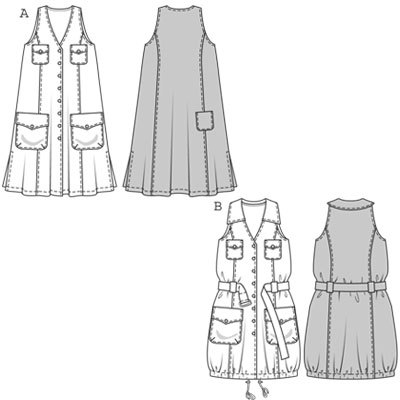 Burda Dress 7813