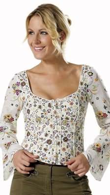 Burda Burda 7938 Corset blouse 7938