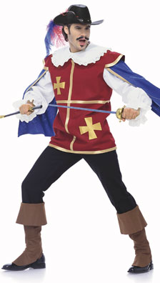 Burda Men's Musketeer Costume 7976