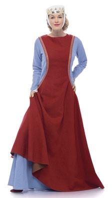 Burda Misses Medieval Dress Costume 7977
