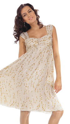 Burda Misses Formal Dress 7983