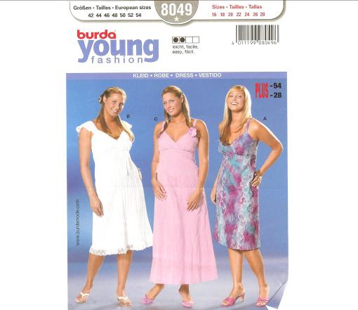 Burda Dress 8049