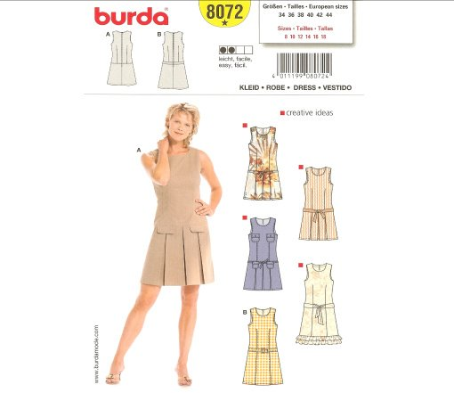 Burda Misses Dress 8072