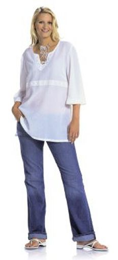 Burda Misses and Plus Tunic 8100