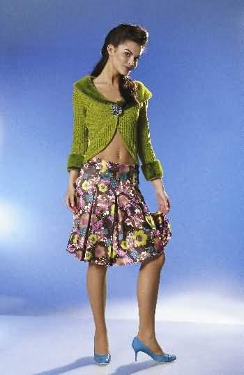 Burda Skirt 8118