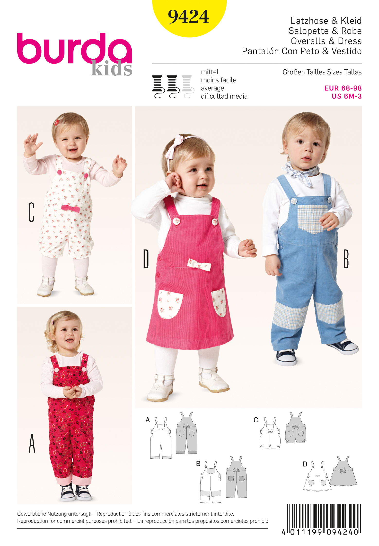 Free dress patterns for girls