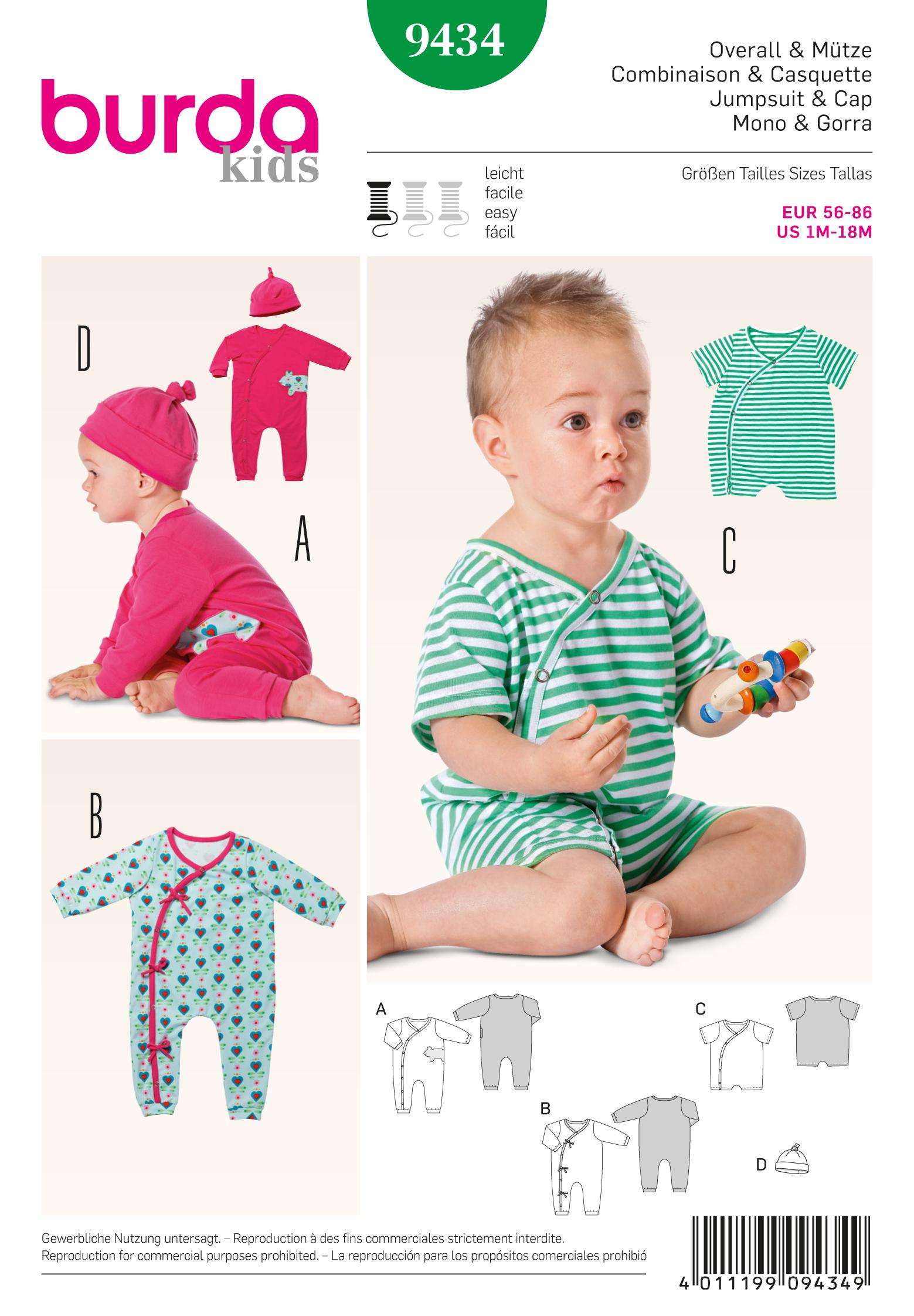 Burda Baby 9434