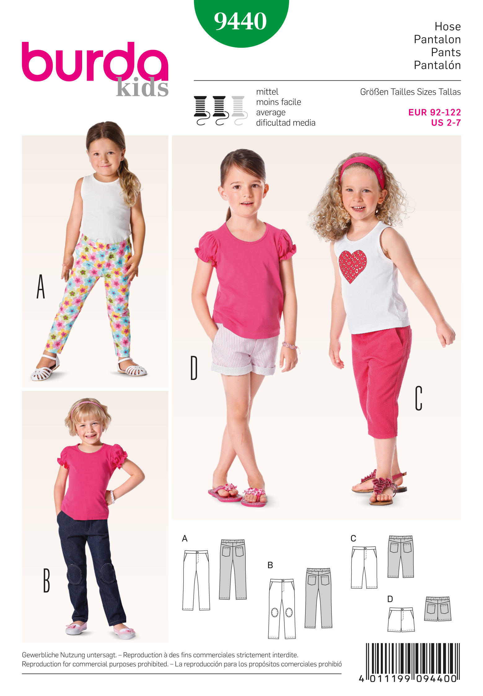 Burda Toddlers 9440