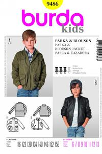 Burda 9486 Pattern