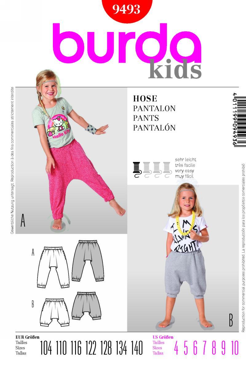 Burda pants 9493